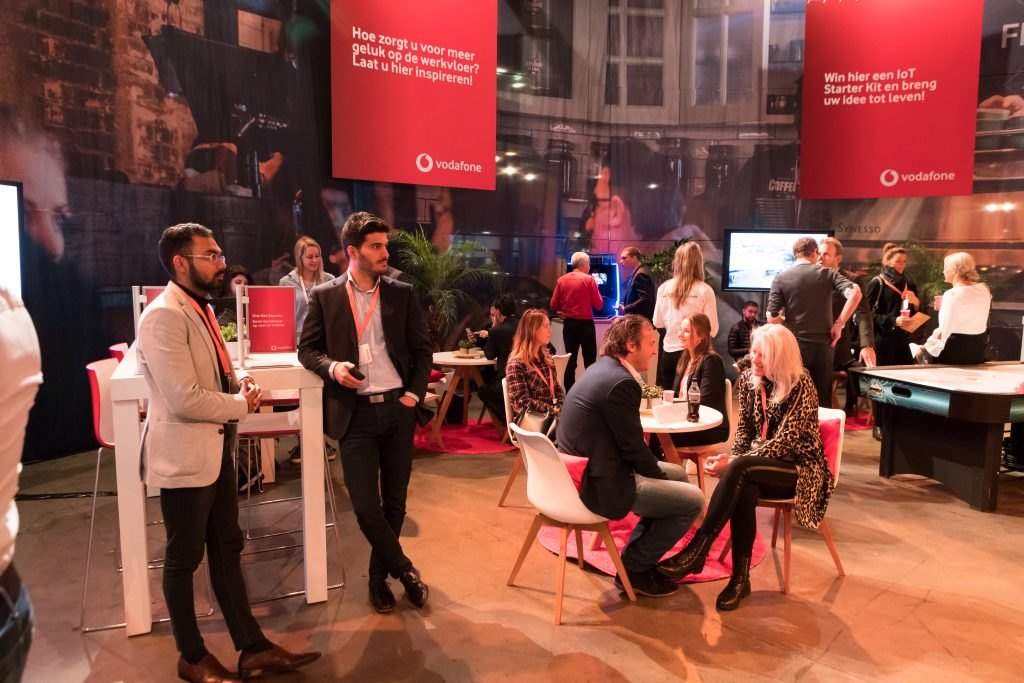 Week van de ondernemer event Vodafone
