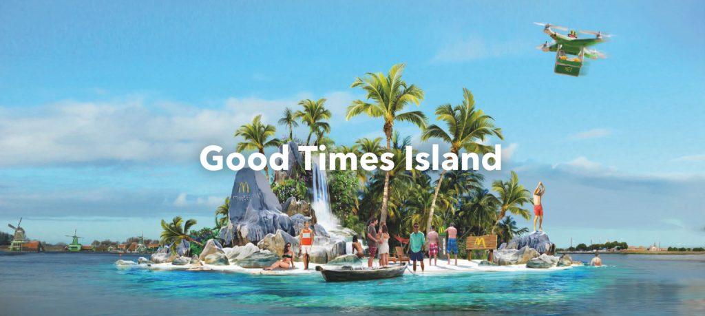 McDonald's Good Times Island geproduceerd door brandXtension