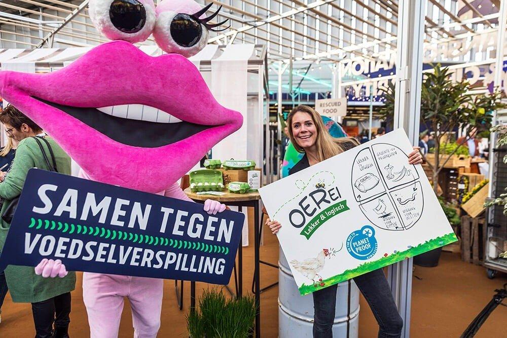 Horecava Samen tegen Voedselverspilling met OerEi