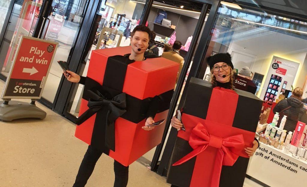 I Amsterdam Store activatie met cadeaus