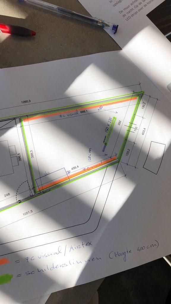 Yahama merkactivatie VIP-room plattegrond