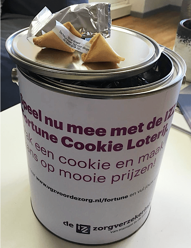 VGZ merkactivatie Fortune Cookies