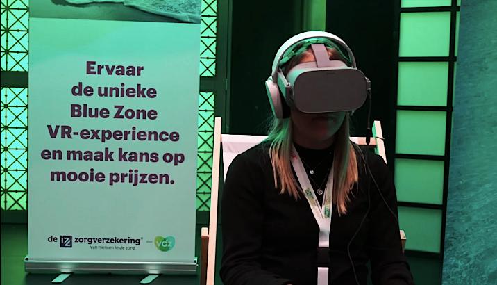 VGZ VR-experience merkactivatie door brandXtension