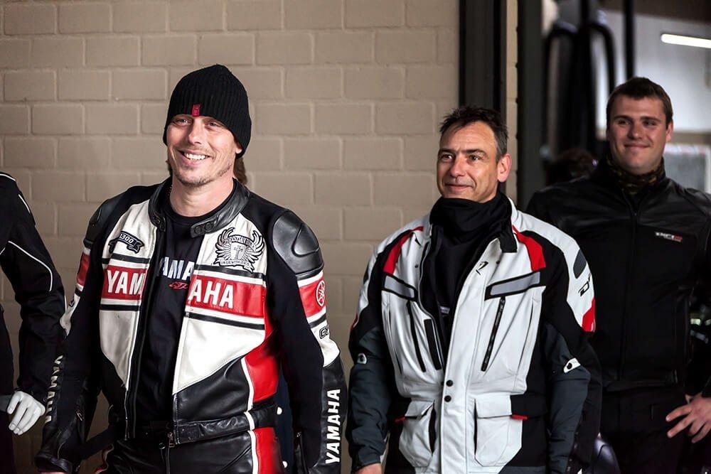 Yamaha motorrijders