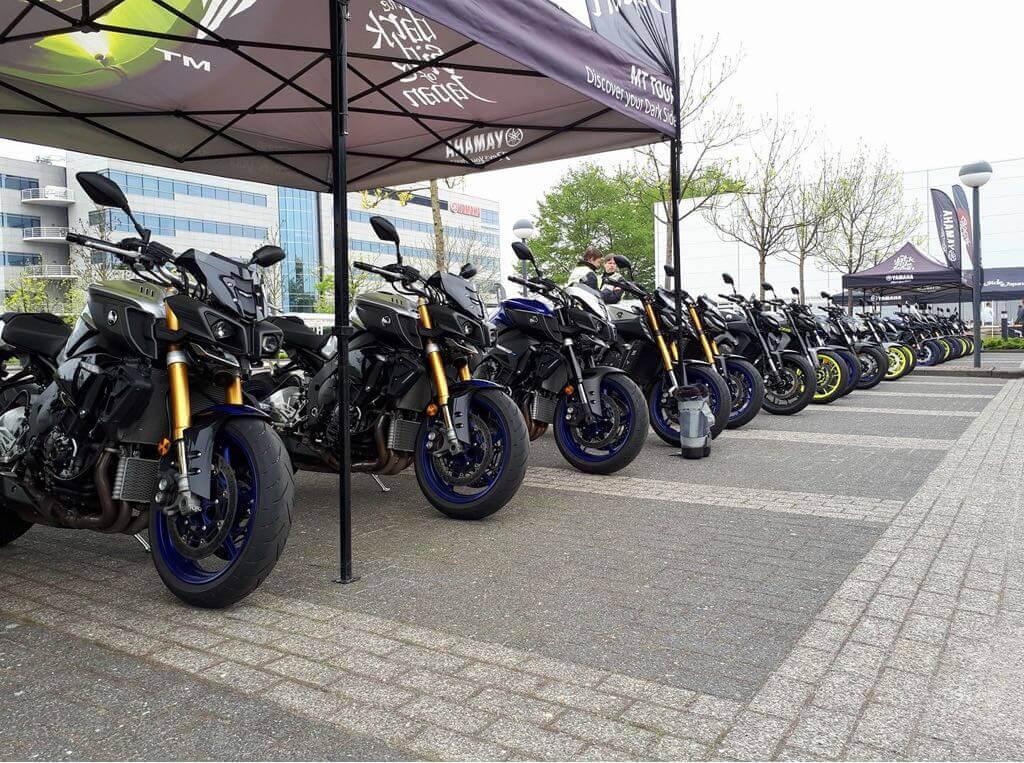 Yamaha motor tour