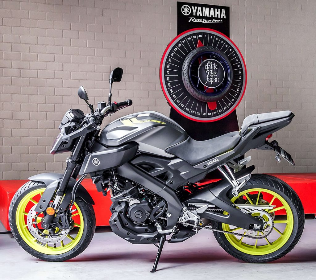 Yamaha Motor voor het 'Wheel of Torque'