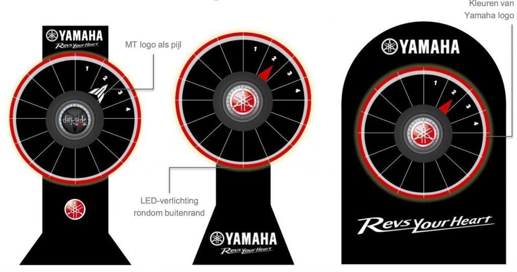 Yamaha Wheel of Torque merkactivatie