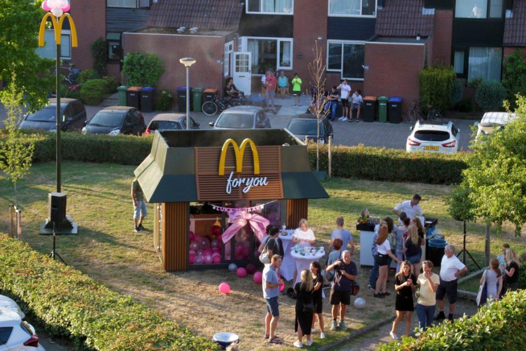 McDonald's For You buurtfeest Sweet Sixteen brandXtension