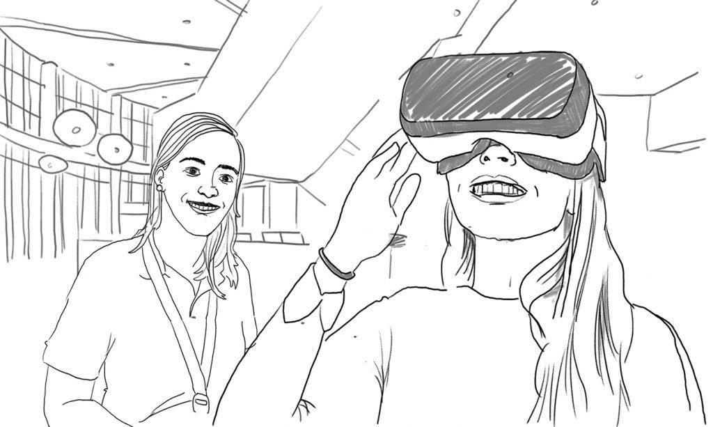 VGZ VR-activatie tekening