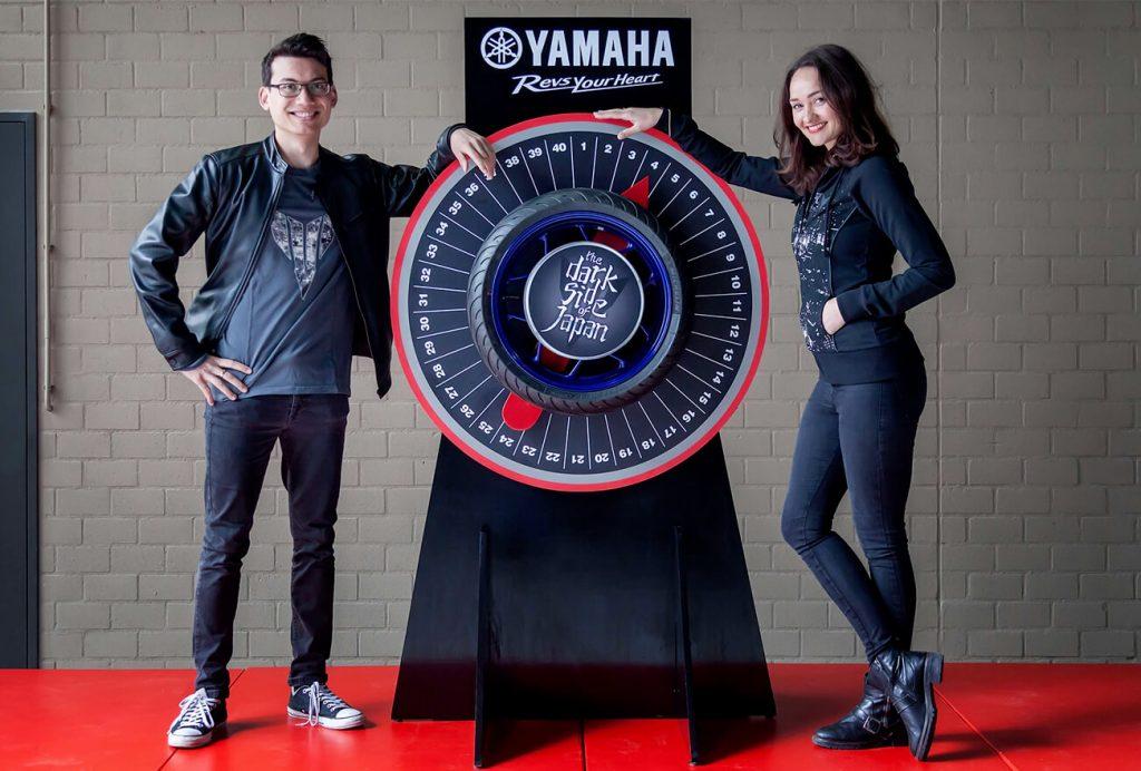 Yamaha Wheel of Torque, een merkactivatie ontwikkeld door brandXtension