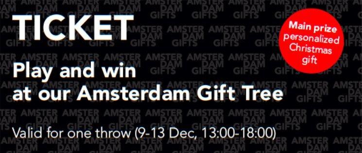 Amsterdam Gift tree ticket