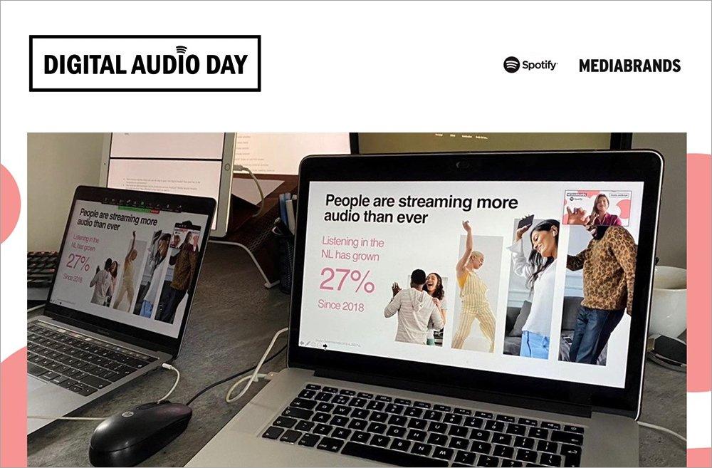 Digital audio day