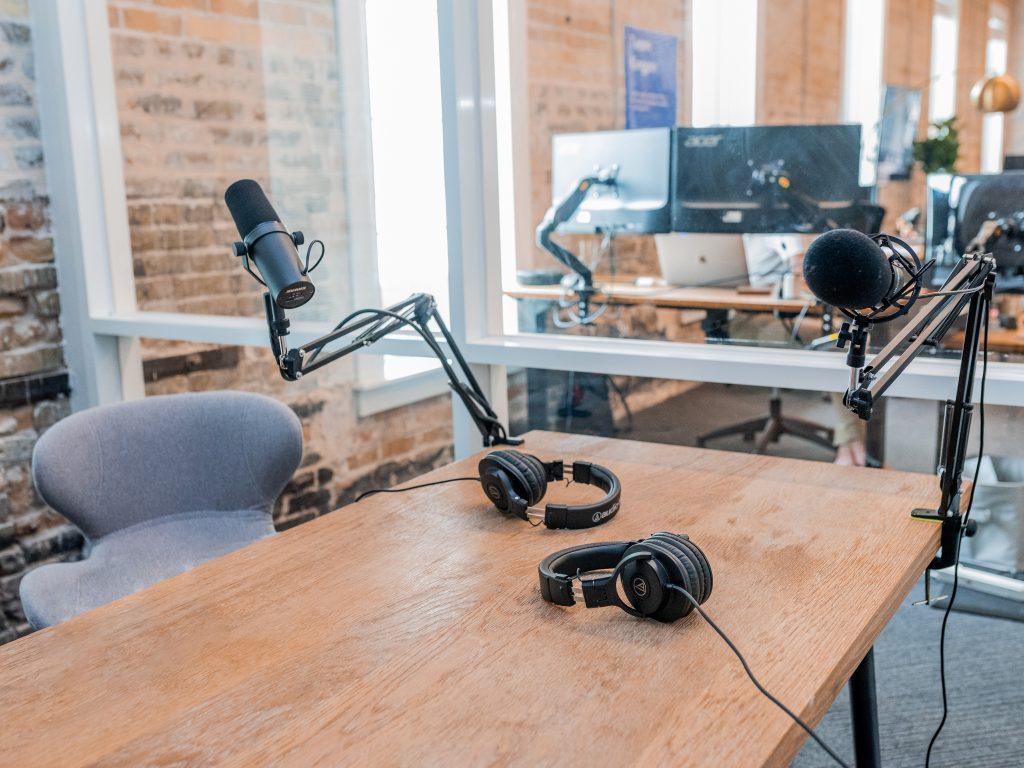 Podcast studio Amsterdam