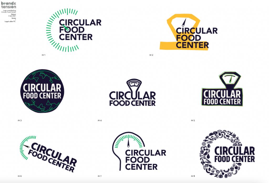 Ontwerpen logo Circular Food Center